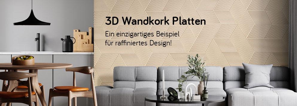 3D-Wandkork