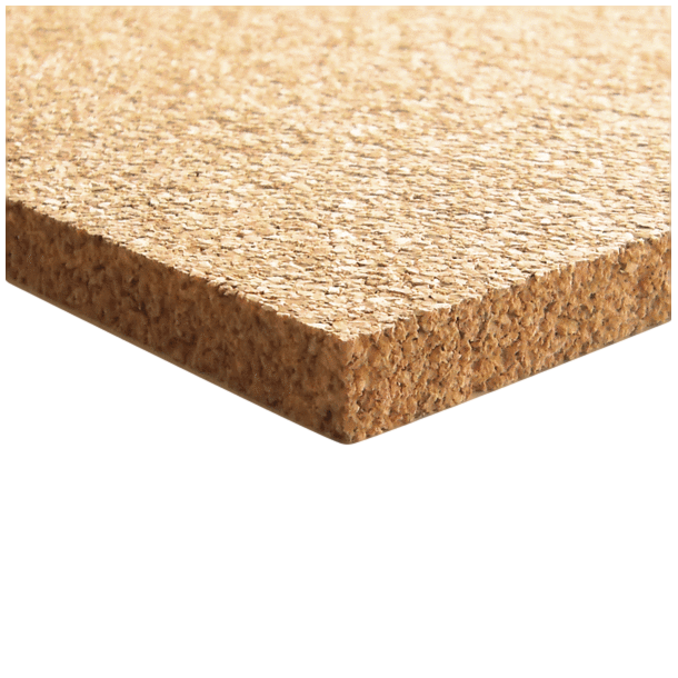 Medium-grained agglomerated cork board 5x640x950mm