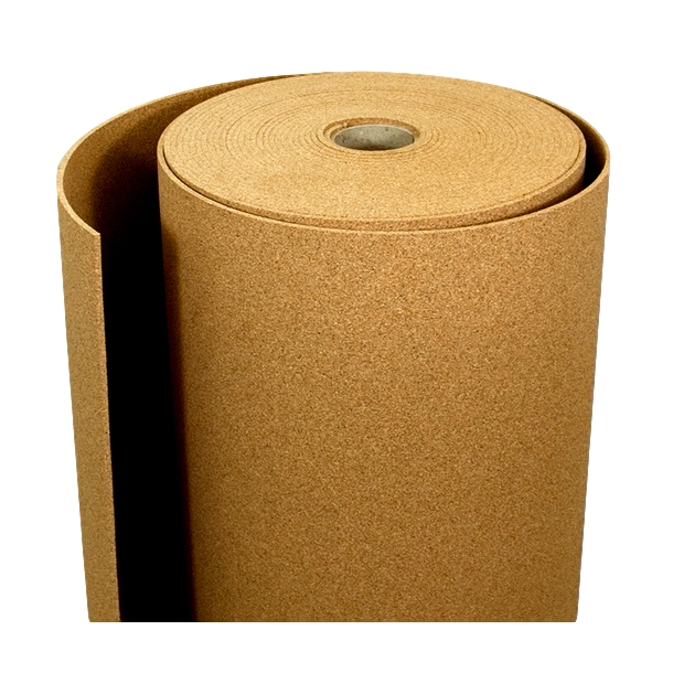 Agglomerated cork tiles roll 2mm x 1m x 19m