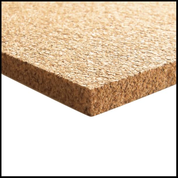 Plaque de liege a grains moyens 10x640x950mm - Plaque de liege deco ...