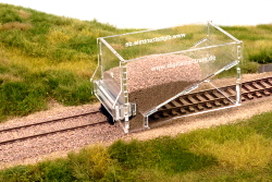 model railway cork roadbed track beds H0 scale tracks