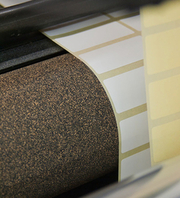 self adhesive cork rubber roller coverings
