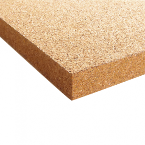 Coarse grained cork sheets