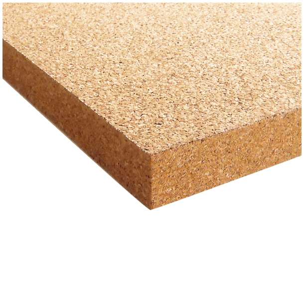 Coarse-grained agglomerated cork board 18x640x950mm