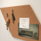 Fine-grained agglomerated cork pin board 7x635x940mm
