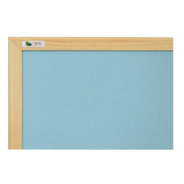 AZURE cork board 90x120cm with a wooden frame