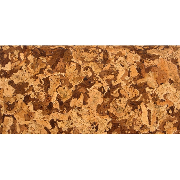 Decorative cork wall tiles ANGOLA MIST 3x300x600mm - package 1,98 m2