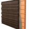 Facciata di sughero espanso decorativo 3D BarCode - 50x500x1000mm