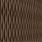 Decorative expanded 3D facade wall cork panel Wave L1 - 50x500x1000mm