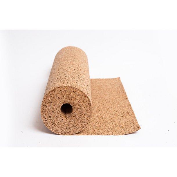 Decorative natural wall cork roll ESTELA 2mm x 0,5m x 8m