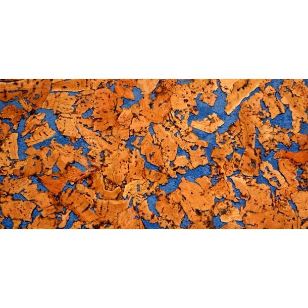 Decorative cork wall tiles VARIO AZUL 3x300x600mm - package 1,98 m2