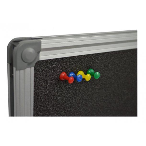 Foam pin board 60x80cm with an aluminium DecoLine frame