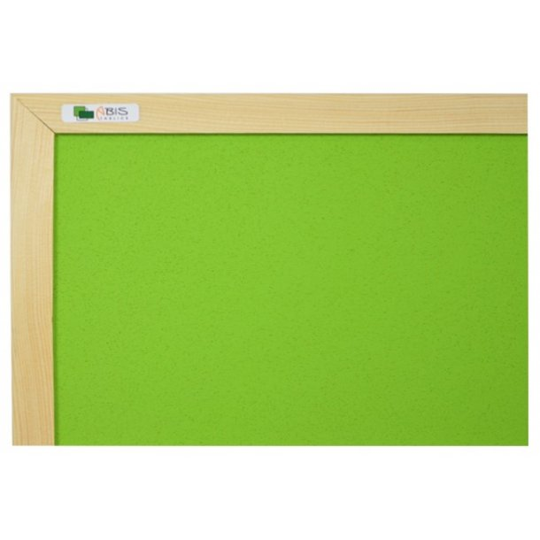 GREEN cork board 90x120cm with a wooden frame