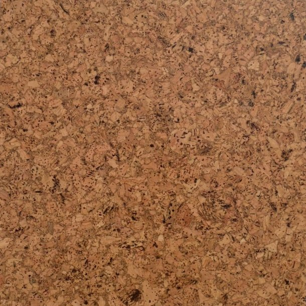 Glue Down Cork Floor Tiles Lisboa 4x300x300mm Mat Varnish