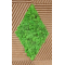 NATURAL 3D green decorative scandinavian reindeer moss wall tiles