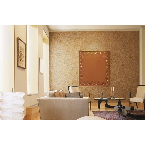 Decorative cork wall tiles HAWAI NATURAL 3x300x600mm - package 1,98 m2