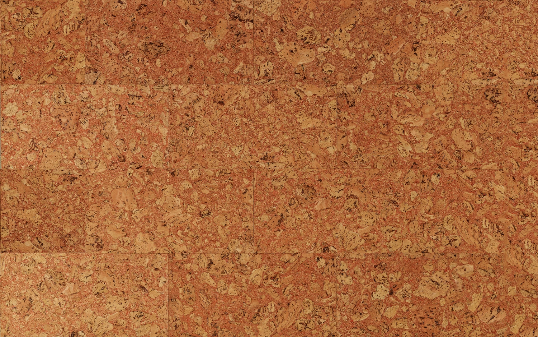 Decorative Cork Wall Tiles TENERIFE RED 3x300x600mm
