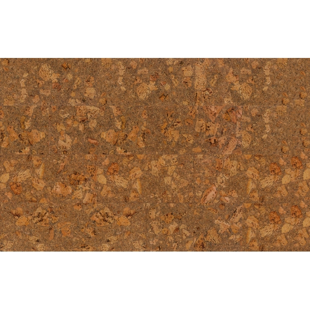Decorative cork wall tiles TENERIFE BLACK 3x300x600mm - package 1,98 m2