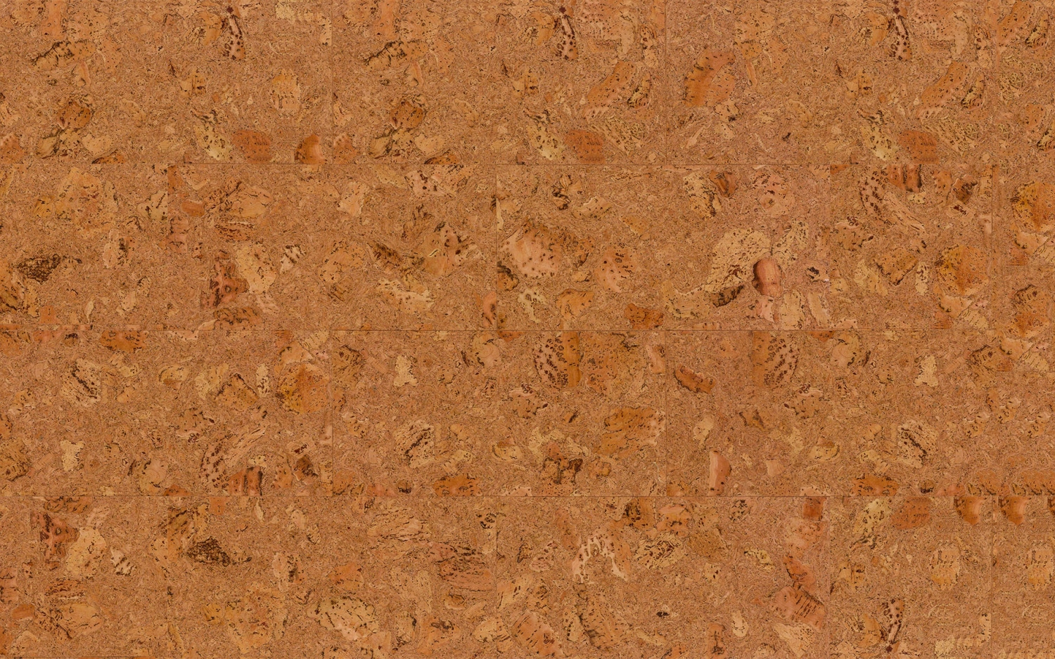 Decorative Cork Wall Tiles Tenerife Natural 3x300x600mm