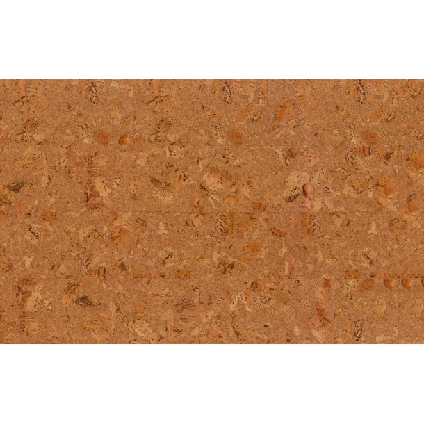 Decorative cork wall tiles TENERIFE NATURAL 3x300x600mm - package 1,98 m2