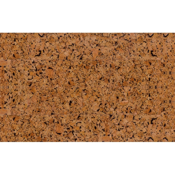Decorative cork wall tiles HAWAI BLACK 3x300x600mm - package 1,98 m2