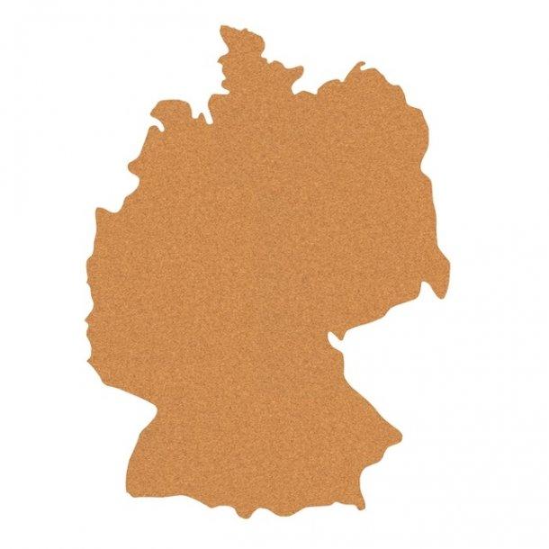 deutschlandkarte auf kork Selbstklebende Deutschlandkarte aus Kork 60x80cm   Pinnwand Kork