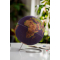 Small coloured natural cork globe 14cm - perfect for any globetrotter! - BESTSELLER!
