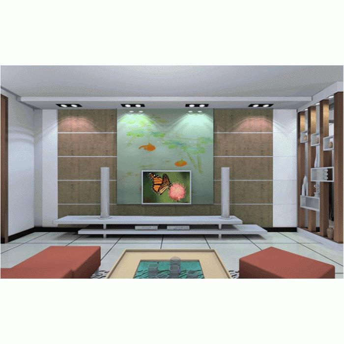 plaque de li ge mural d coratif bamboo toscana 3x300x600mm colis 1 98 m2. Black Bedroom Furniture Sets. Home Design Ideas