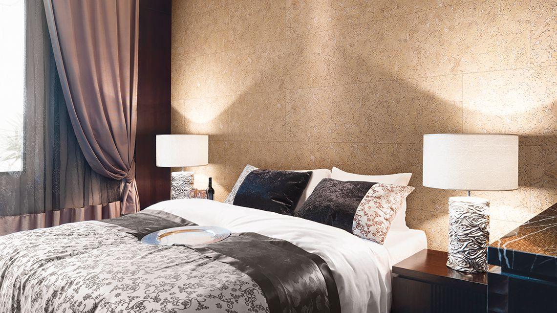 plaque de liege mural d coratif alabaster cream 3x300x600mm colis 1 98 m2. Black Bedroom Furniture Sets. Home Design Ideas