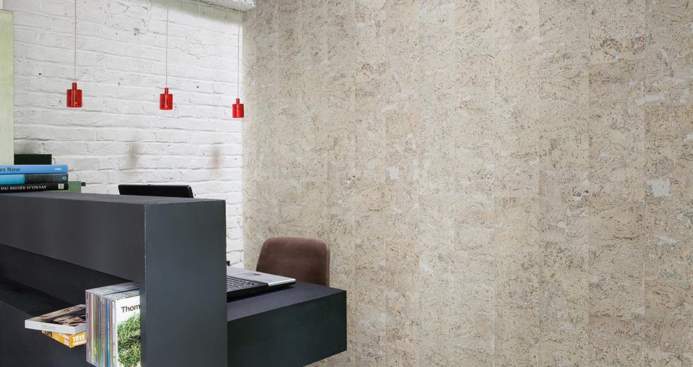 Corcho de pared stone art pearl 3x300x600mm - Placas de corcho para paredes ...