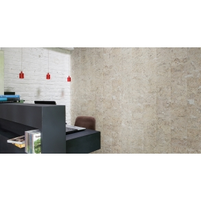 decorative cork wall tiles stone art pearl 3x300x600mm package 198 m2
