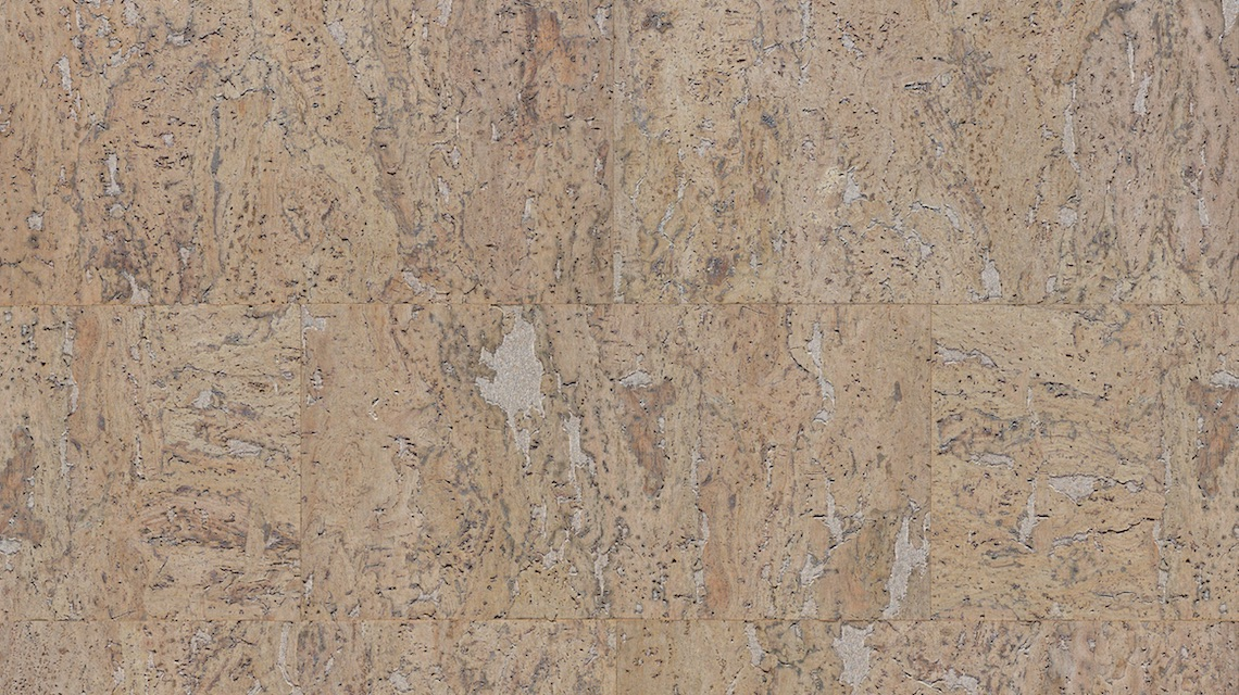Decorative Cork Wall Tiles Stone Art Platinum 3x300x600mm