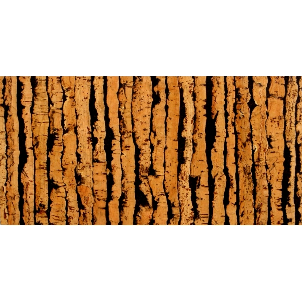 Decorative cork wall tiles TIGRE 3x300x600mm - package 1,98 m2