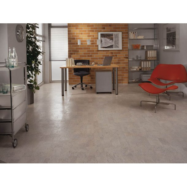 Glue down cork floor tiles Wicanders Timide prePU 6x300x600mm - 1,98 m2
