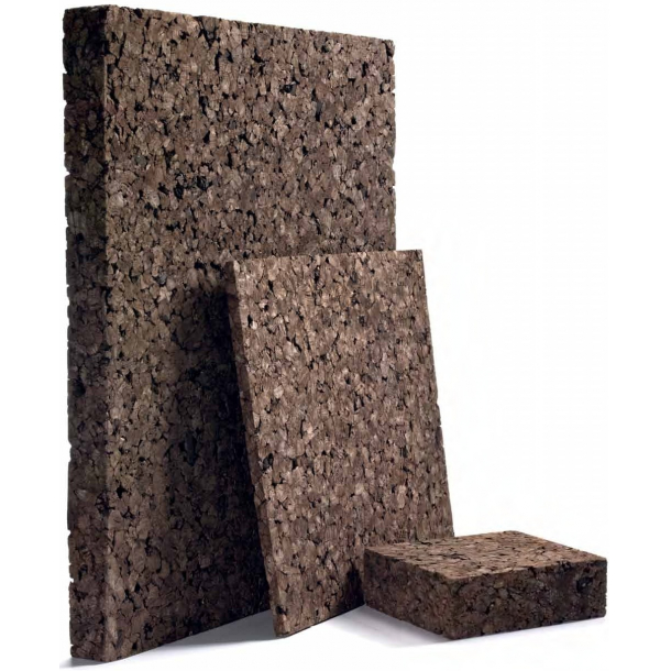 Expanded insulation cork board High Density 40x500x1000mm
