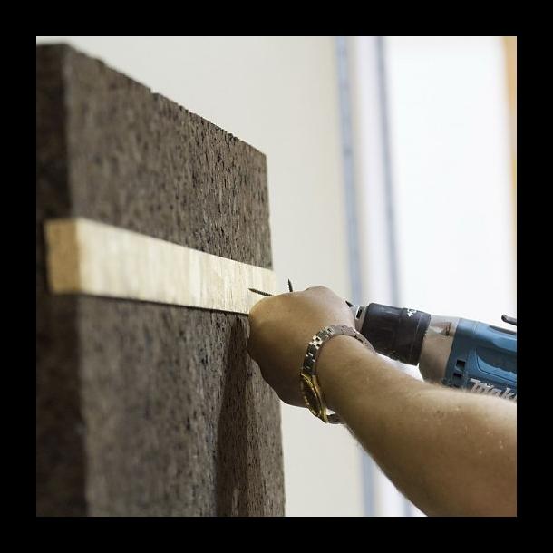 Expanded insulation cork board Lambourde (Lamburd) 60x500x1000mm