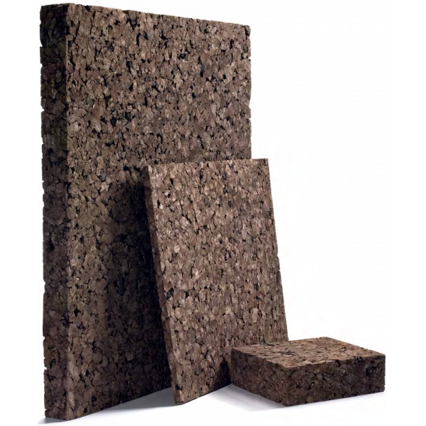 Expanded insulation cork board 10x500x1000mm