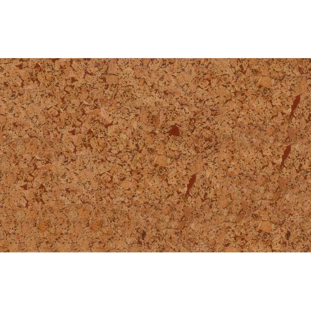 Decorative cork wall tiles HAWAI CHOCOLATE 3x300x600mm - package 1,98 m2