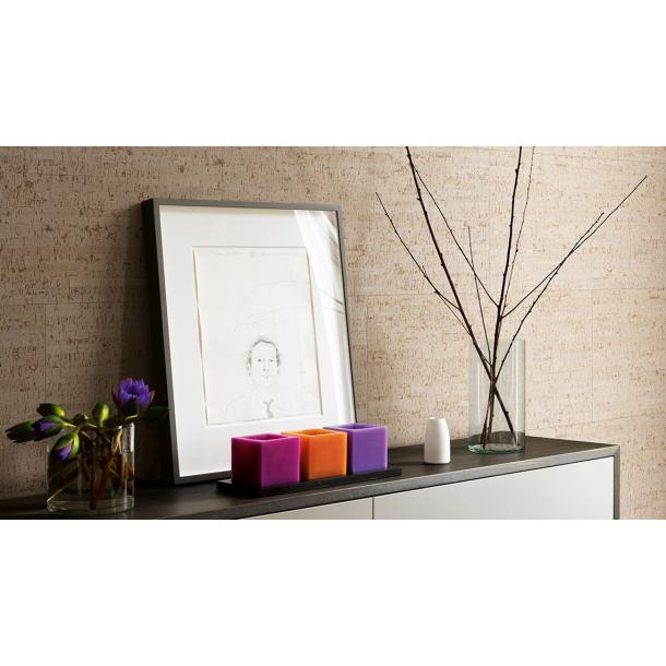 Decorative cork wall tiles BAMBOO TERRA 3x300x600mm - package 1,98 m2