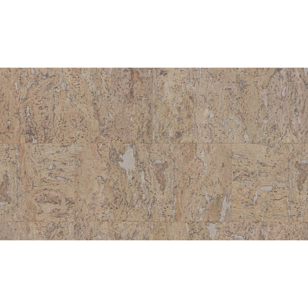 Decorative cork wall tiles STONE ART PLATINUM 3x300x600mm - package 1,98 m2