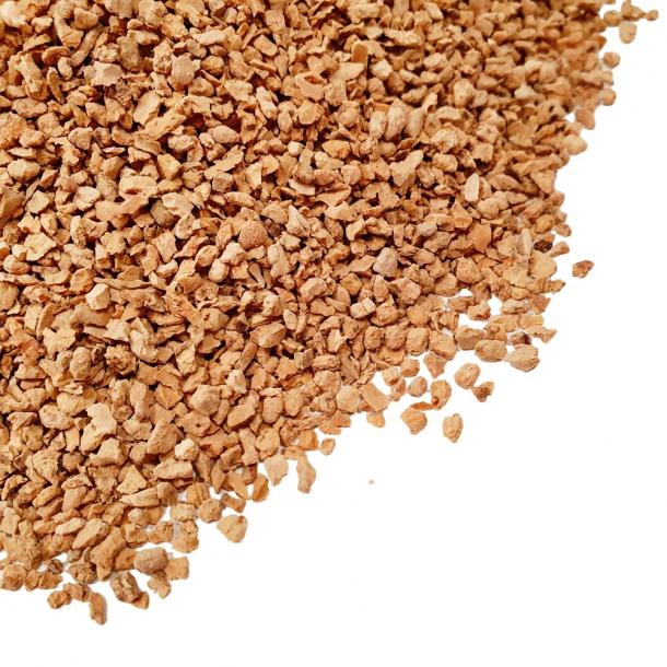 Granulated cork 2-3mm - 100kg (1000 liters) - BESTSELLER!