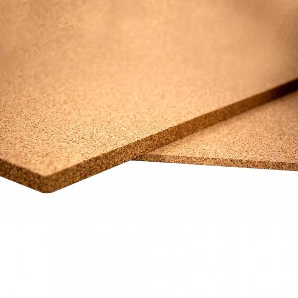 Cork sheets - Sample Set - Fine, Medium & Coarse Grained - 9 pcs.