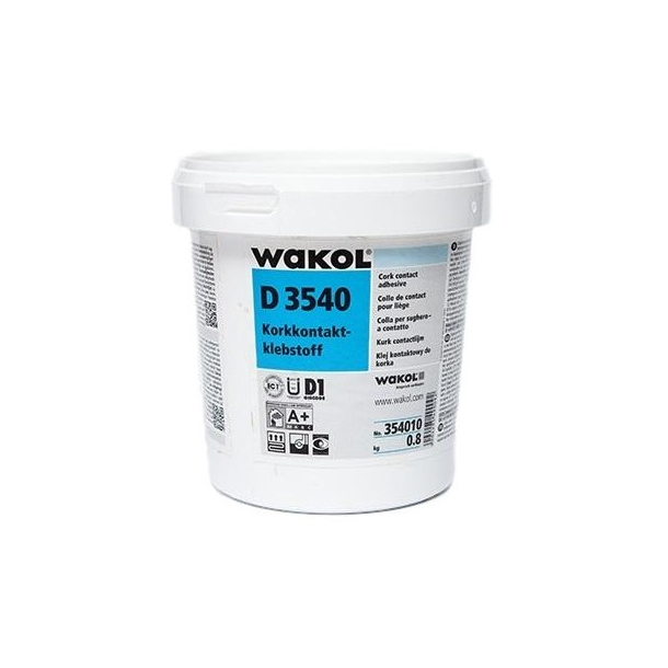 Cork contact adhesive Wakol D 3540 0,8kg