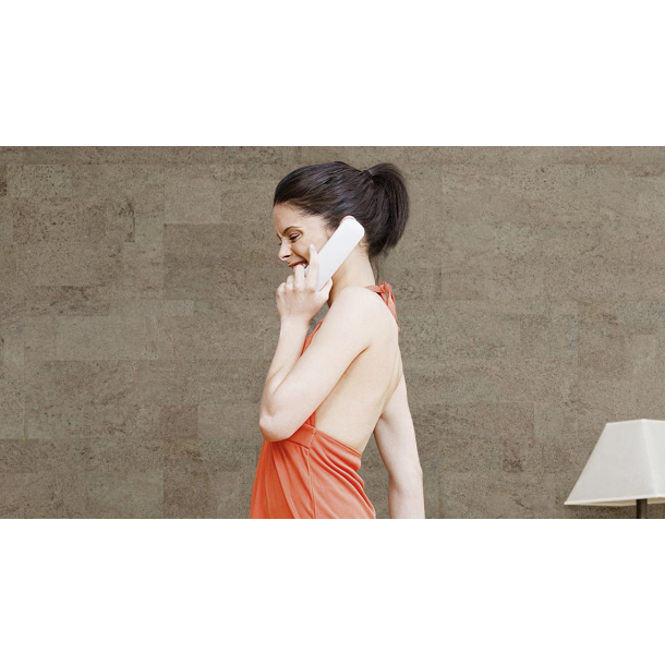 Decorative cork wall tiles MALTA PLATINUM 3x300x600mm - package 1,98 m2