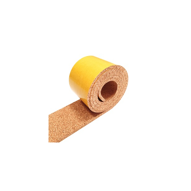 Self adhesive cork strip 4mm x 50mm x 30m