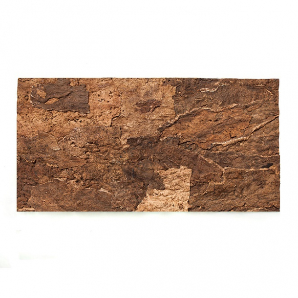 Decorative wall cork bark CAMELEON 15x610x915mm