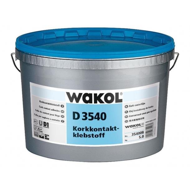 Cork contact adhesive Wakol D 3540 5kg