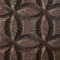 Decorative expanded 3D facade wall cork panel Circles L1 - 40x500x1000mm