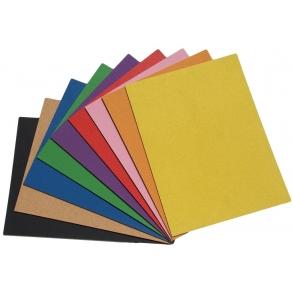Farvet selvkl�bende kork opslagstavler