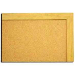 NATURAL OAK MDF framed cork boards